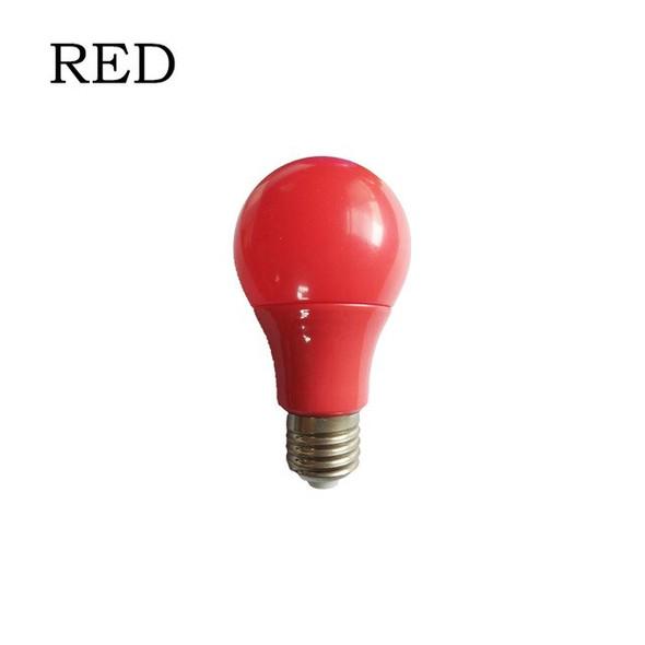 Led bulb 7W E27 , Bulb Lights , Green, Blue, Yellow, Red