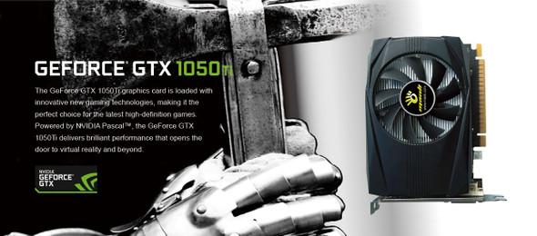 MANLI NVIDIA GeForce GTX1050Ti 4GB GDDR5 PCIE 128bit Gaming Graphic Card