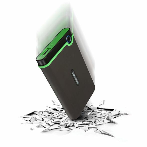 """Transcend Storejet 1T Portable USB 3.0 Hard Disk 2.5"""""""