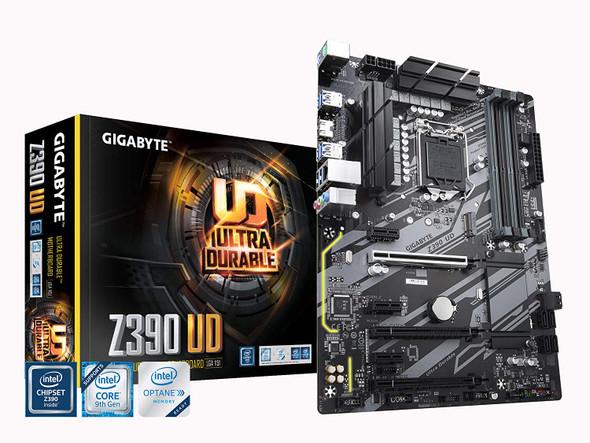 Motherboard GIGABYTE Z390 UD (Intel LGA1151/Z390/ATX/M.2/Realtek ALC887/Realtek 8118 Gaming LAN/HDMI/Gaming Motherboard)