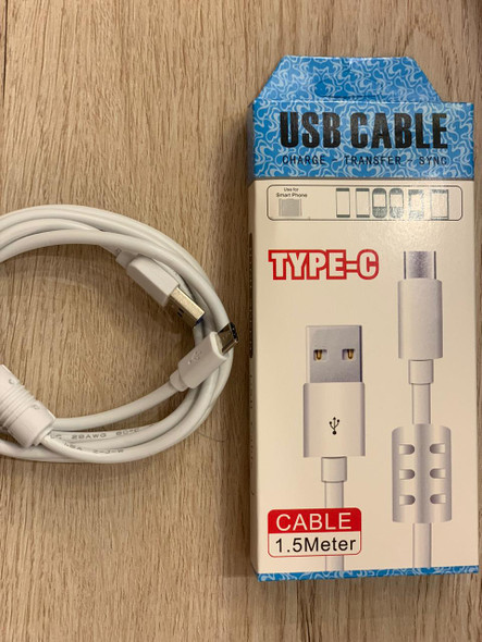 USB Type C - Charging Cable , 1.5m, Fast charge