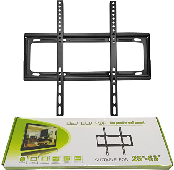 """Flat Panel Tv Wall Mount For 26""""-63"""" LED LCD PDP Screens"""
