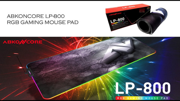 ABKONCORE LP800 RGB GAMING MOUSE PAD