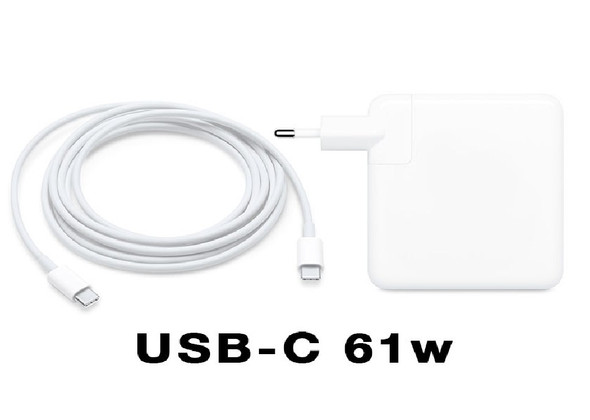 Comaptible AC Adapter For APPLE MAC LAPTOPS 61W Type C