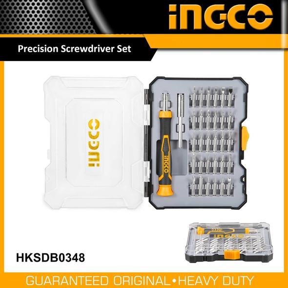 PRECISION SCREWDRIVER SET – 32Pcs – INGCO HKSDB0348