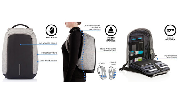 Kingslong Backpack Anti-Theft Multi-Purpose Fits up to 15.6