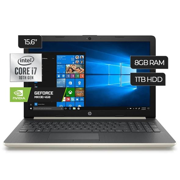 LAPTOP HP 2020 15-Da2211 I7-10510U 1TB 8GB FHD Gforce Mx130 4GB NVIDIA