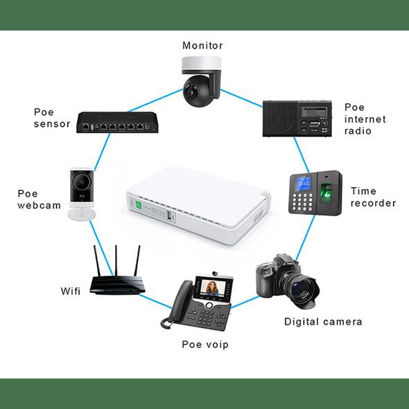 Mini Ups 12v For Wifi Router