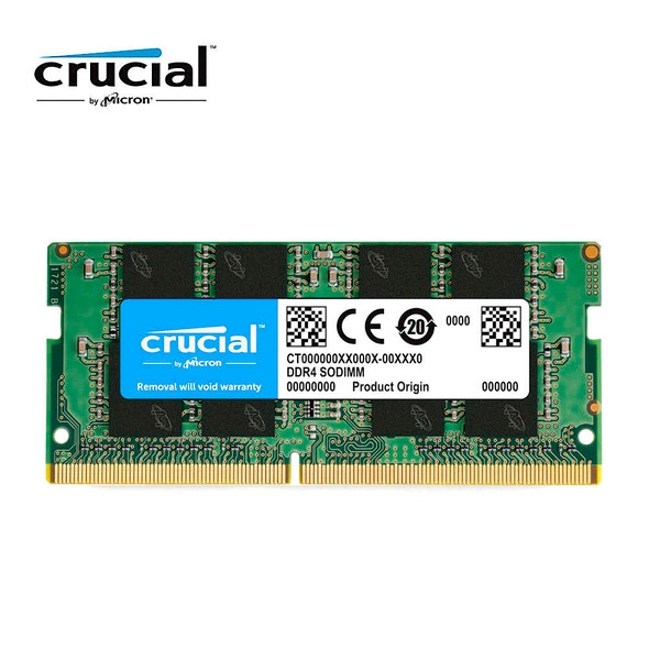 Crucial 16GB Single DDR4 3200 MT/S (PC4-25600) CL22 DR X8 Unbuffered SODIMM 260-Pin Memory - CT16G4SFD832A
