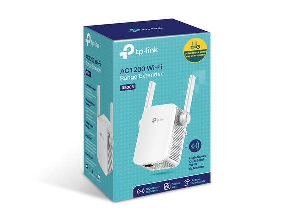 TPLINK RE305 AC1200 Wi-Fi Range Extender