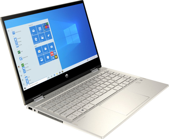 """Laptop HP 2020 x360 14"""" FHD WLED Touchscreen 2-in-1 Convertible Laptop, Intel Core i5-1035G1 up to 3.6GHz, 8GB DDR4, 256GB SSD, 802.11ac, Bluetooth, Webcam, HDMI, Fingerprint Reader, Windows 10"""