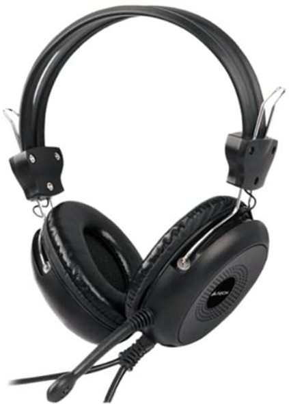 A4TECH HS-30 ComforFit Stereo Headset in Black - HS30