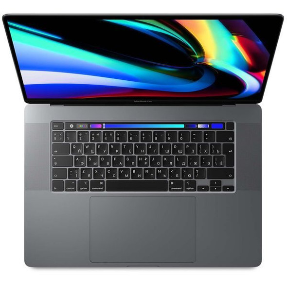 Apple Macbook Pro Touch Bar and Touch ID MVVK2 ( 2019 ) Laptop - Intel Core i9, 2.3GHz, 16-Inch, 1TB, 16GB, AMD Radeon Pro 5500M-4GB,Eng-KB, Space Gray