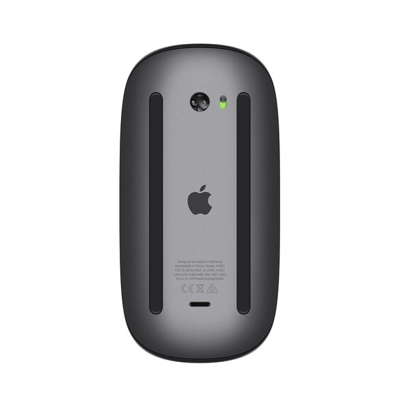 Apple Magic Mouse 2 ( Space Gray ) MRME2LL/A - Wireless Bluetooth Connectivity