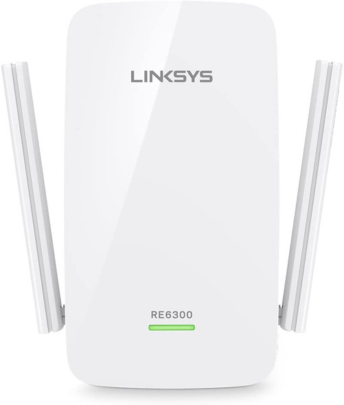 Linksys RE6300 AC750 Boost Dual-Band Wi-Fi Gigabit Range Extender / Repeater