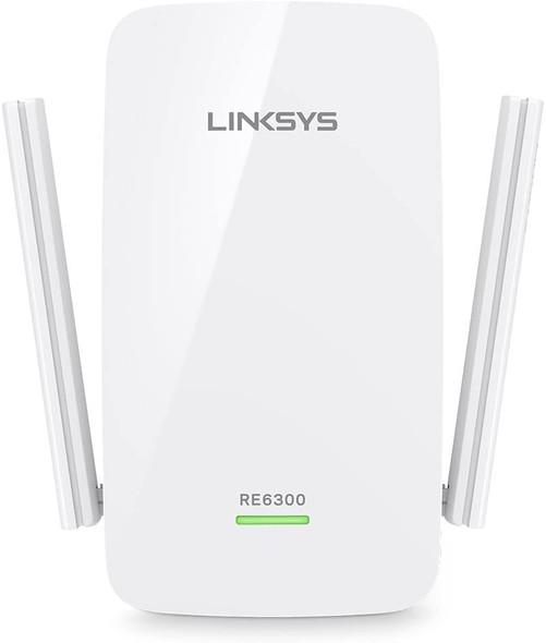 Linksys RE6300 AC750 Boost Dual-Band Wi-Fi Gigabit Range Extender / Repeater