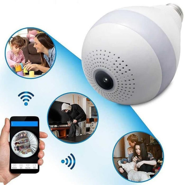 3D VR WIFI camera 360 Degree Panoramic IP Camera 960P Fisheye Wireless Smart Cam