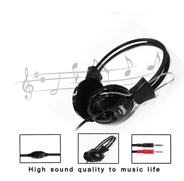 Jedel 808 3.5 mm Plug Stereo Headphone Professional Headphone For Computer With High Quality