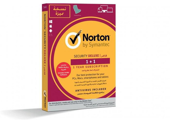 Norton Security Deluxe 3.0 1+1 (1 User 2 devices )