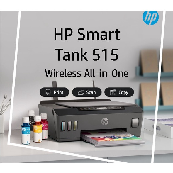 HP Smart Tank 515 All-in-One Wireless Ink Tank Color Printer