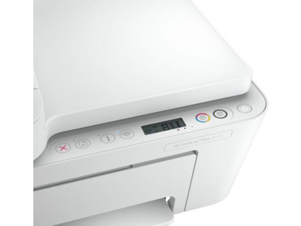 HP DeskJet Plus 4120 All-in-One Printer Print - Scan - Copy - FAX