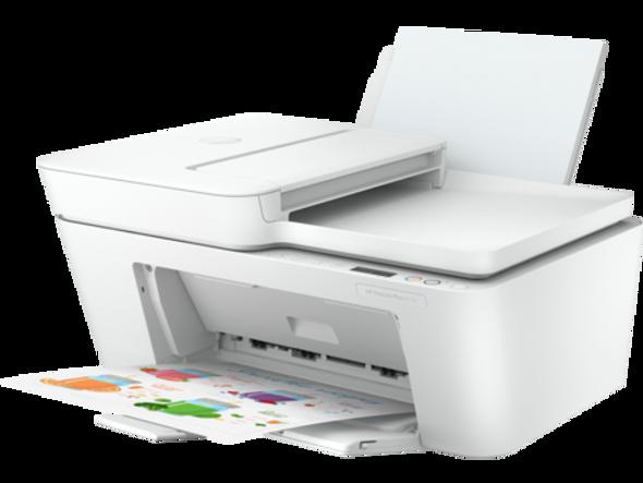 HP DeskJet Plus 4120 All-in-One Printer Print - Scan - Copy - FAX