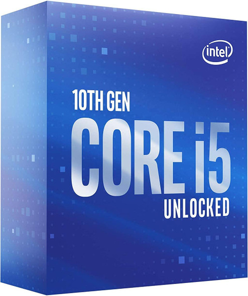 Intel Core i5-10600K Desktop Processor 6 Cores up to 4.8 GHz Unlocked  LGA1200 (Intel 400 Series Chipset) 125W