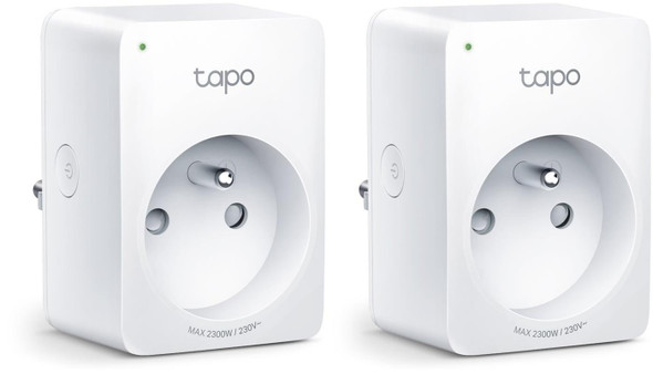 TP-Link Tapo Smart Plug Mini, Smart Home Wifi Outlet Works with Alexa Echo & Google Home, No Hub Required, New Tapo APP Needed (P100 2-pack)