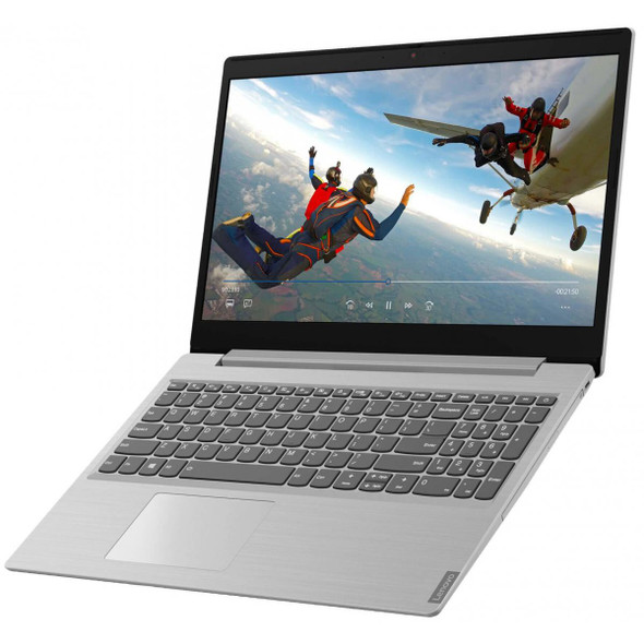 """Lenovo laptop Ideapad L3 15IML05 / 81Y300ACAX Platinum Grey – Intel Core i7 10510U 1.8G – 8GB SO-DIMM DDR4-2667 – 1TB HDD – NVIDIA GeForce MX330 2GB GDDR5 – 15.6"""" FHD Anti-glare -DOS"""