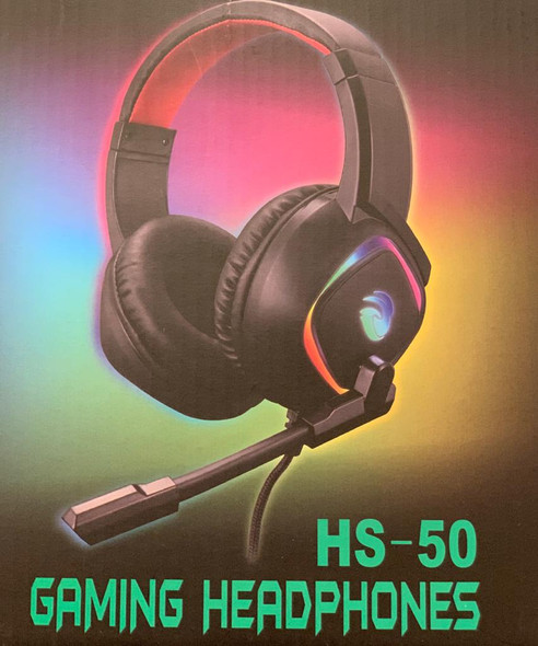 Gaming Headphone RGB HS-50 / USB + 3.5mm
