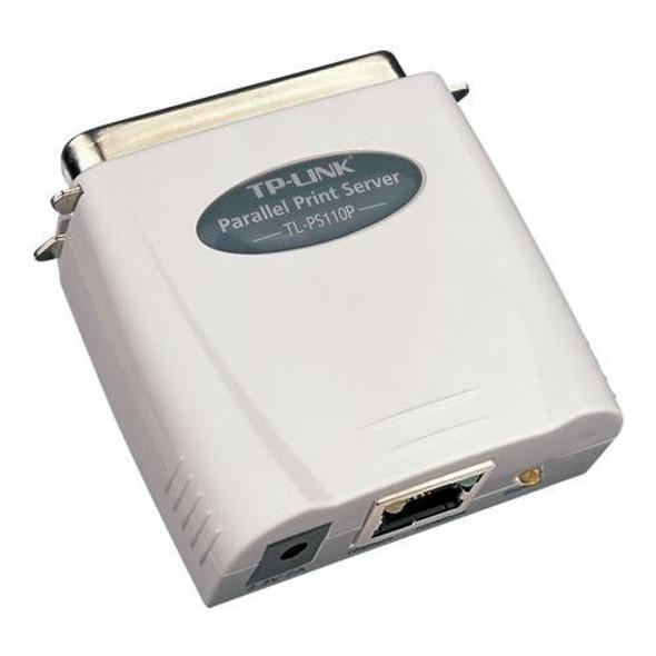 Single Parallel Port Fast Ethernet Print Server