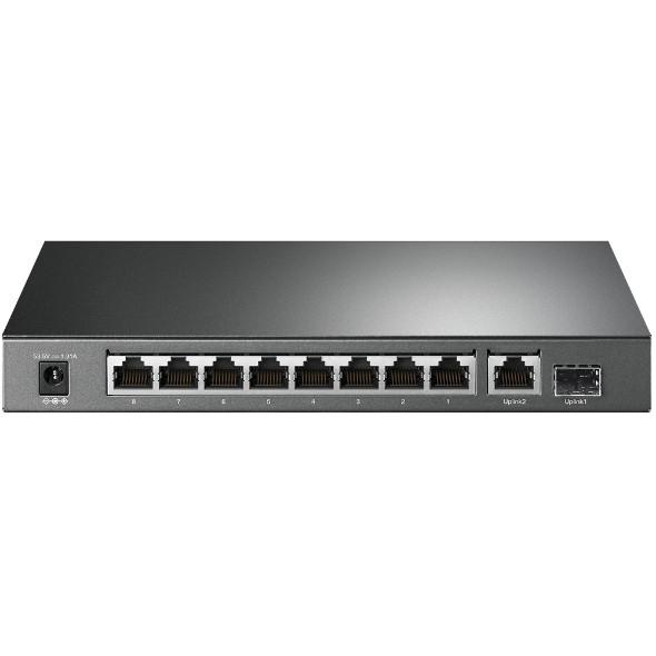 TL-SG1210P 10-Port Gigabit Desktop Switch with 8-Port PoE+