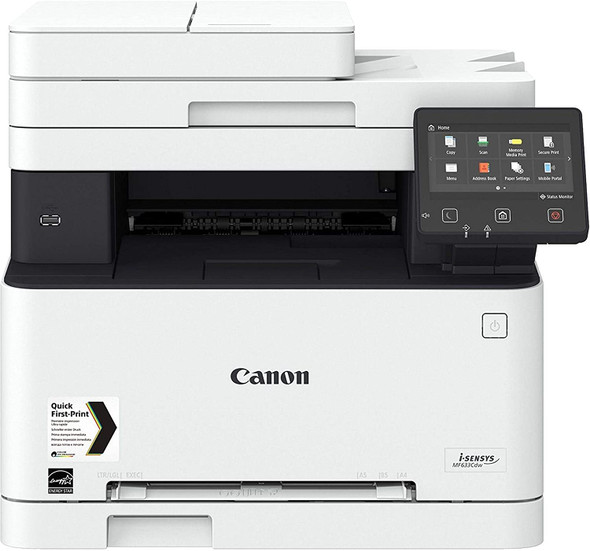CANON i-SENSYS MF633CDW Wireless Color Laser All-in-One Printer ( Print - Scanner - Copy -FAX )