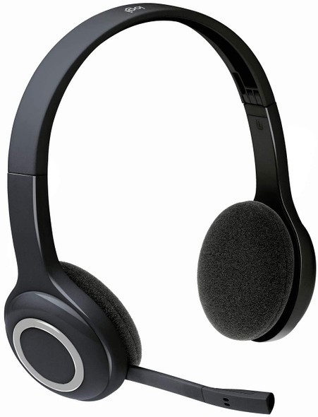 Logitech Over-The-Head Wireless Headset H600 (view)