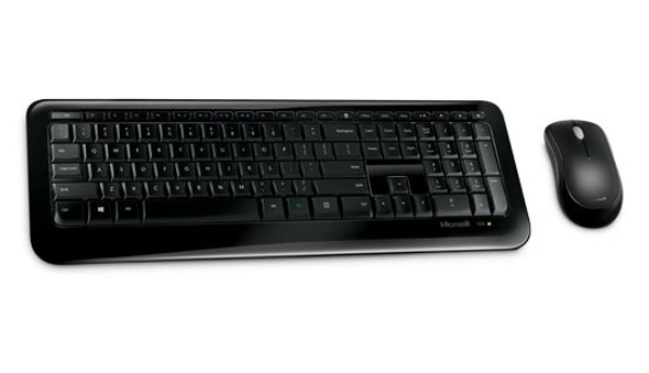 Microsoft DTP-850 Keyboard & Mouse Wireless for Desktop Computers