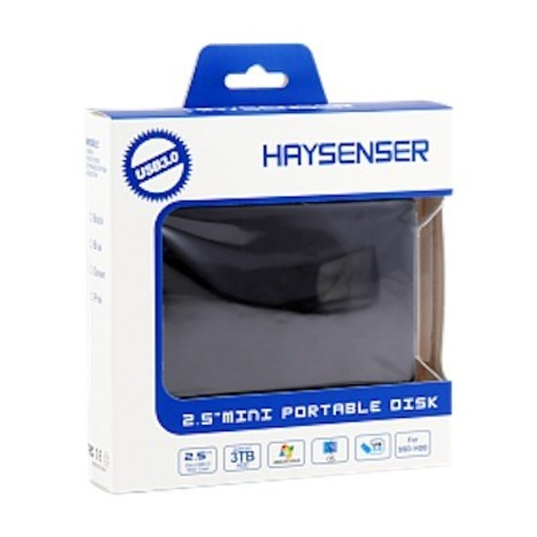 Haysenser USB 3.0 Hard Drive Enclosure, Size 2.5 Inch, Easy Convert SSD & HDD From Internal to External