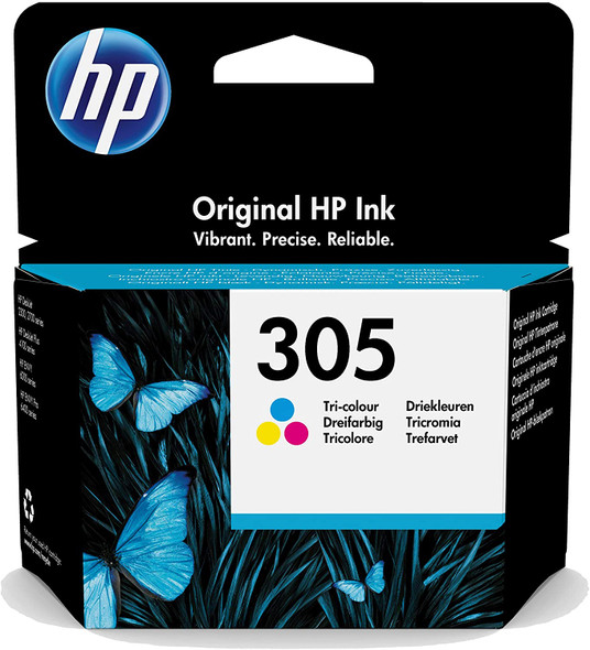 HP 305 Color Original Ink Cartridge ( 3YM60AE )
