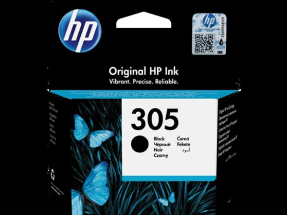 HP 305 Black Original Ink Cartridge (3YM60AE)