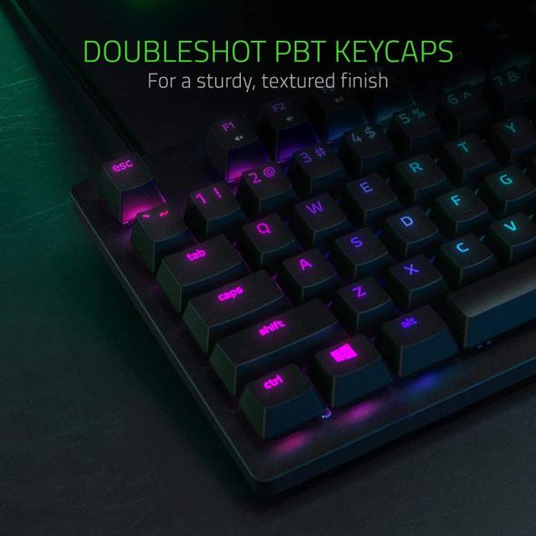 Razer Huntsman Tournament Edition TKL Tenkeyless Gaming Keyboard: Fastest Keyboard Switches Ever - Linear Optical Switches - Chroma RGB Lighting - PBT Keycaps - Onboard Memory - RZ03-03080300-R3G1