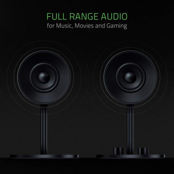 Razer Nommo – Full Range 2.0 PC Gaming Speakers
