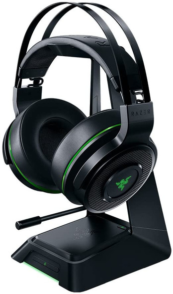 Razer Thresher Ultimate for PS4: Dolby 7.1 Surround Sound Lag-Free Wireless Connection Retractable Digital Microphone Gaming Headset Works with PC, PS4, PS5 - RZ04-01590100-R3G1
