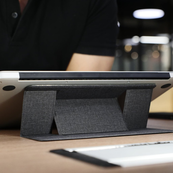 Invisible Laptop Stand Portable Adjustable Foldable Laptop Stand Slim Adhesive Laptop Stand