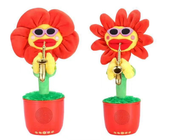 G26 Dancing Flower Bluetooth Speaker Wireless Portable Beautiful Enchanting Flower Dance When Play Music