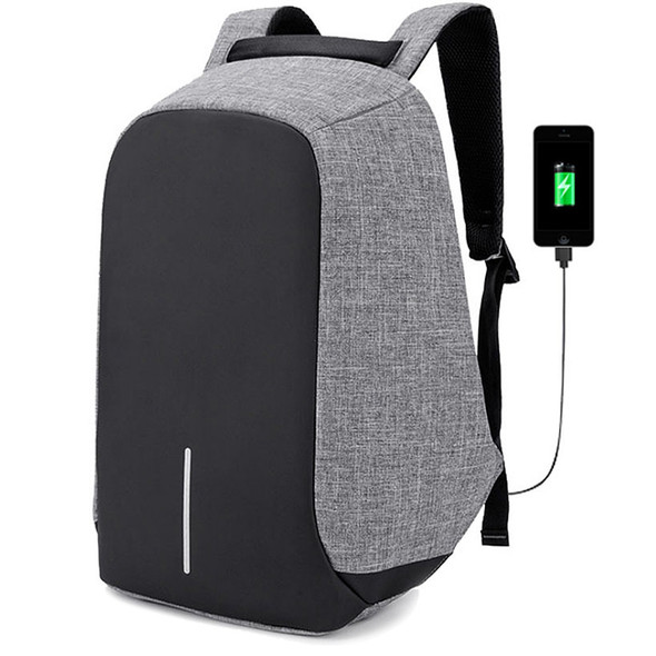 Kingslong Backpack Anti-Theft Multi-Purpose Fits up to 15.6 - Grey