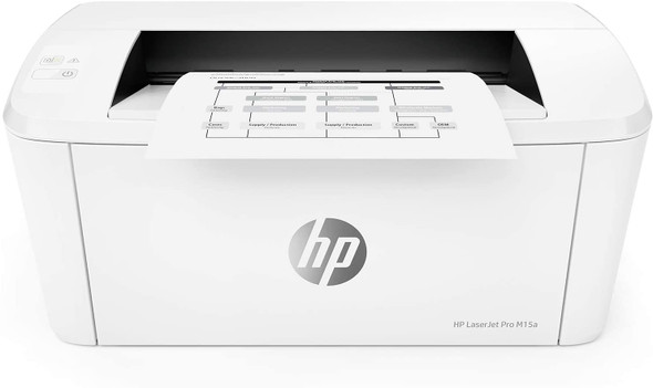 HP Laserjet Pro M15a World's Smallest Black-and-White Monochrome Laser Printer W2G50A (Includes Toner and USB Cable