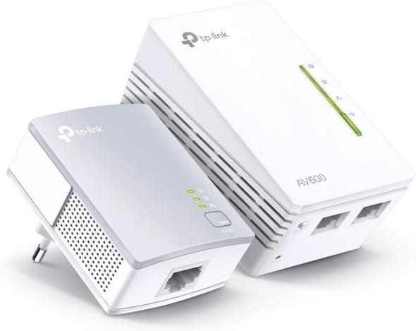 TP-Link TL-WPA4220KIT 300Mbps AV500 WiFi Powerline Extender Start Kit