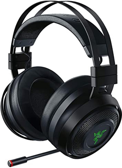 Razer Nari Ultimate: THX Spatial Audio HyperSense Technology – 2.4GHz Wireless Audio ? Cooling Gel-Infused Cushions – Gaming Headset Works with PC, PS4, Xbox One, Switch, & Mobile Devices - RAZ0402670100R3M1