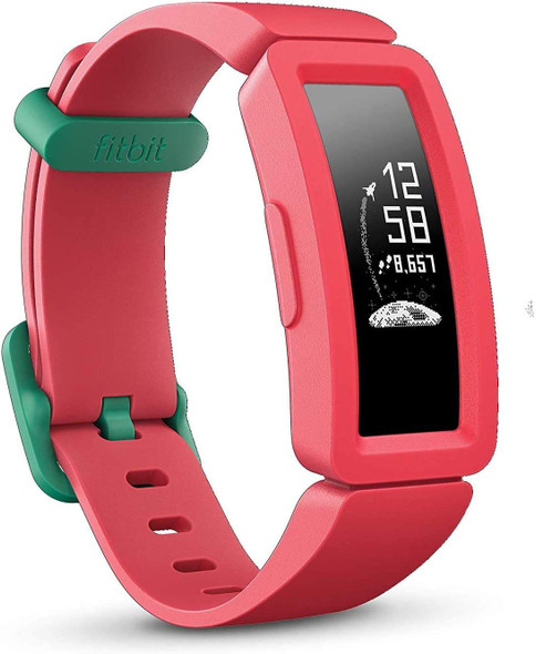 Fitbit Ace 2 Activity Tracker for Kids, Watermelon + Teal