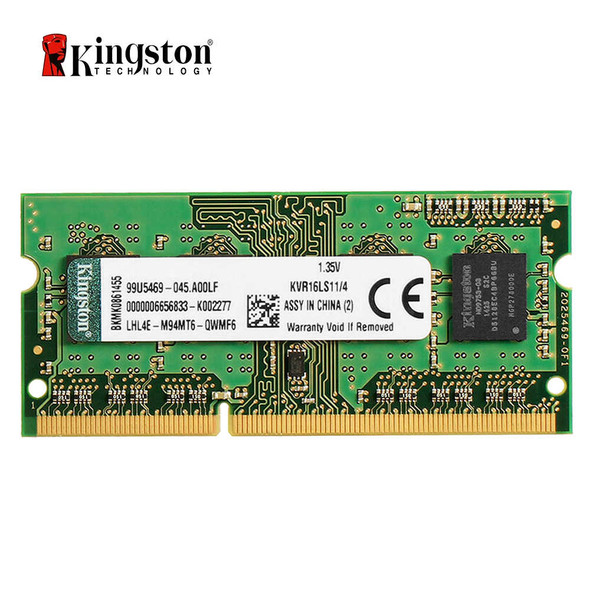 Kingston RAM For laptop 4GB DDR3 1600Mhz