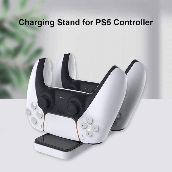 PS5 Controller Charger Station, Dual Type-C USB Charging Station stand for Playstation 5